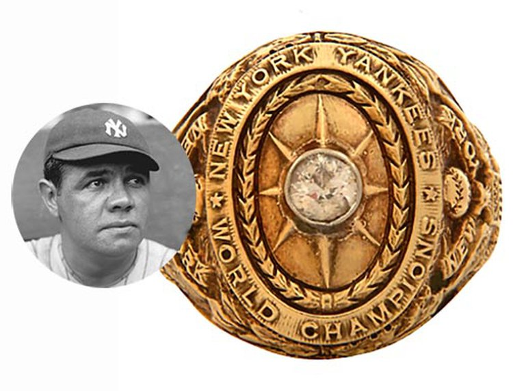 Baseball's True Holy Grail: Babe Ruth's 1927 World Series Ring Sells for $2.1 Million