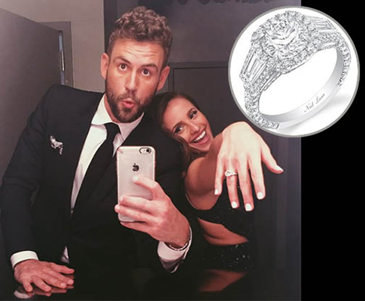 'Bachelor' Nick Viall Proposes to Vanessa Grimaldi With 3.75-Carat Diamond Ring Worth $100K