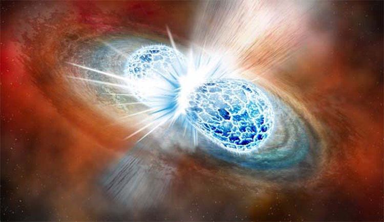Astronomers Witness the Birth of $100 Octillion Worth of Gold as Neutron Stars Collide in Space