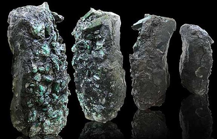 Half-Ton Stone Embedded With 170,000 Carats of Emeralds Steals the Show in Abu Dhabi