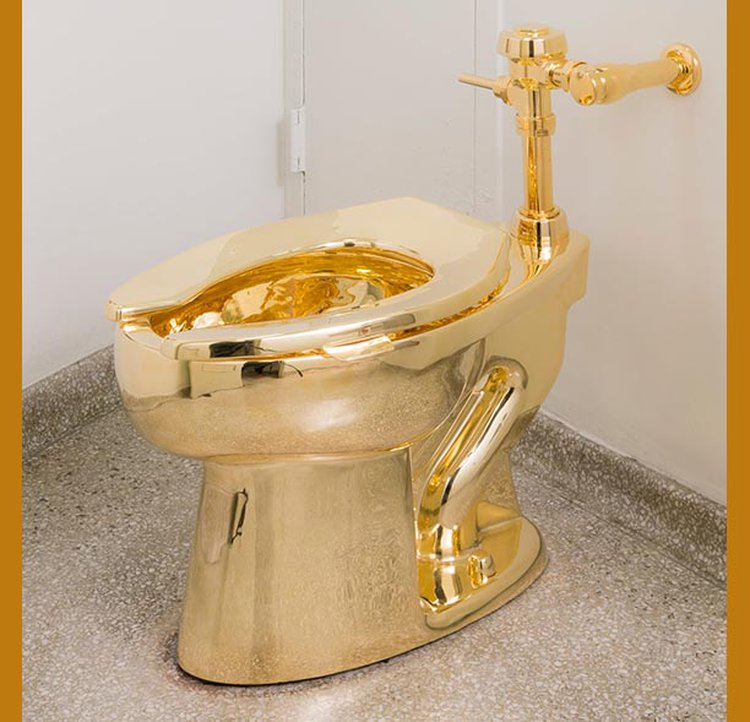 Guggenheim Museum's Fully Functional 18-Karat Toilet, 'America,' Will Have Its Final Flush on Sept. 15