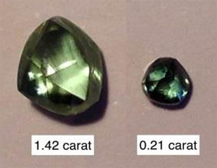 Australian Mining Company Unearths Five Ultra-Rare Green Diamonds