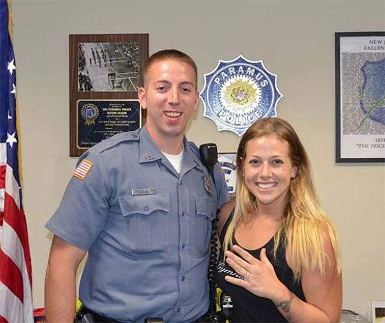 NJ Officer Searches Breakdown Lane — on His Own Time — to Find Engagement Ring of Young Bride-to-Be
