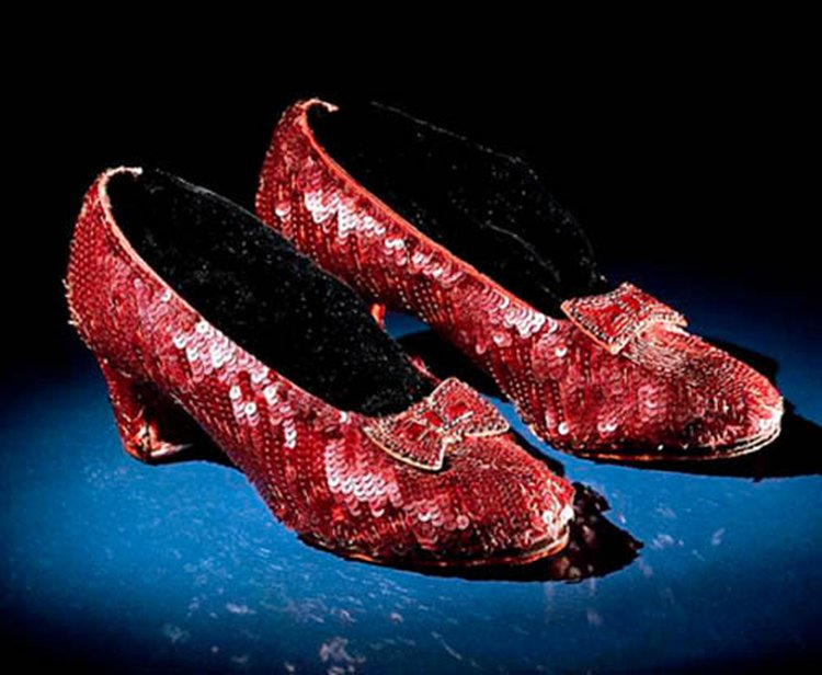 Last Day to See Dorothy's Ruby Slippers Is April 23; Conservation Care to Take One Year