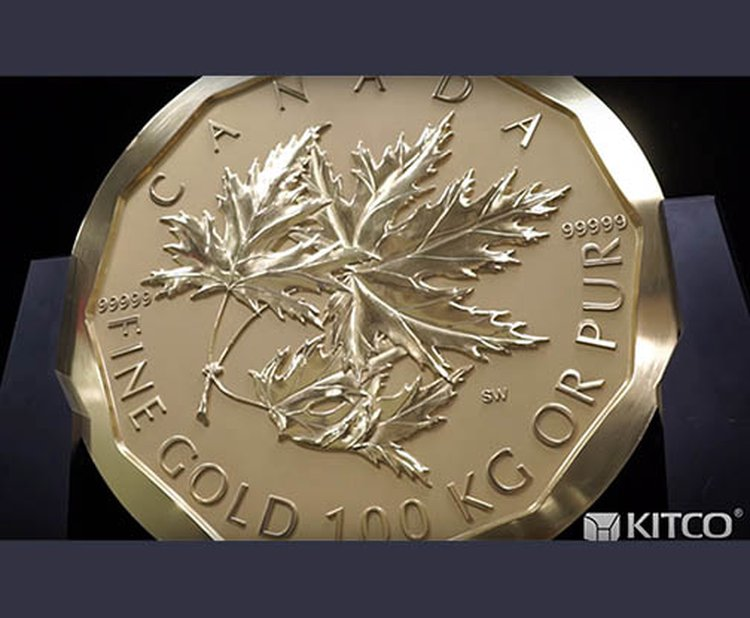 220-Pound 'Big Maple Leaf' Gold Coin Goes Missing at Berlin Museum; Did They Check the Sofa?