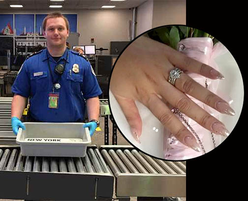 Traveler's Despair Turns to Elation as Albany TSA Pulls Out All the Stops to Find Lost Diamond